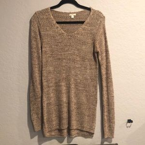 Nordstrom's BP brown long sweater